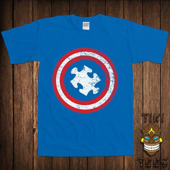 Funny Autism Awareness Tshirt Autistic Tshirt Tee Shirt by TikiTee, $15.00
