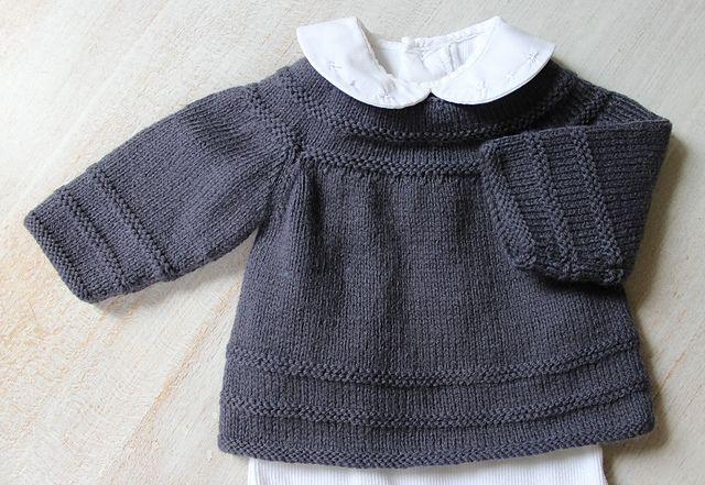 Nouveau ! En version française sur Ravelry ! Ravelry: 35 / Baby Vest pattern by Florence Merlin