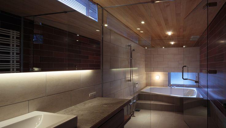 ガレージで趣味を楽しむ邸宅   建築家住宅のデザイン 外観&内観集 高級注文住宅 HOP