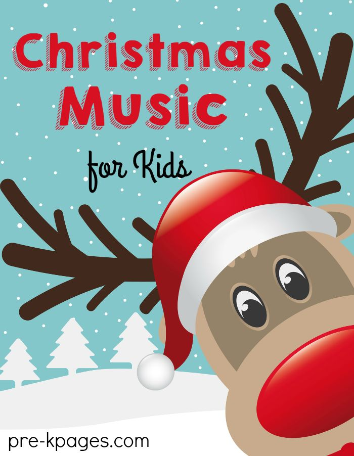 Christmas Songs for Preschool and Kindergarten. Free YouTube Christmas music your kids will love singing along with for the holidays!