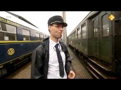 Het Klokhuis maakt geschiedenis: De eerste spoorlijn