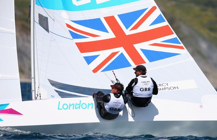 Ian Percy, Andrew Simpson winning silver in sailing at London 2012