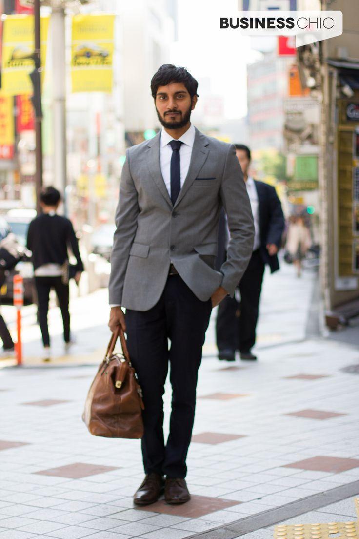 Black dress navy suit - Business Chic British Man Shibuya Wears Contrast Suit Via Www Businesschic Com Au Black Dress Pantswhite Dress Shirtsnavy
