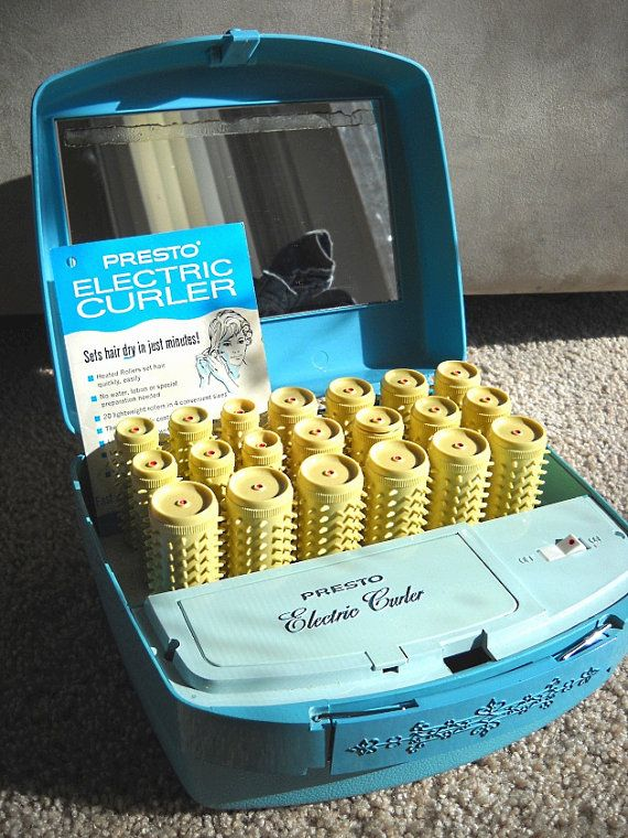 Baby Blue Presto Electric Curler with Pins Manual by WildMushrooms, $16.00