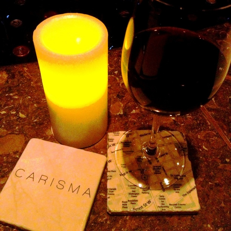 Dropped into @carisma_73KingE for a glass of vino last night & LOVED seeing our #coasters being put to beautiful use!