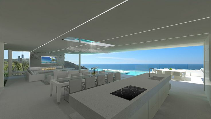 New Chris Clout Design beach house at Sunshine beach QLD with large pool modern interiors and lighting