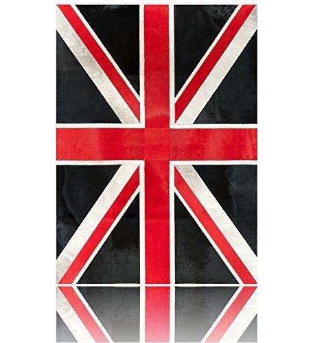 Patchwork cowhide rug UNION JACK Alfombras Piel de Vaca (240 CM X 180 CM, Negro, Blanco & Rojo) Pura https://www.amazon.es/dp/B01DQVBB2A/ref=cm_sw_r_pi_dp_hG8.wb7JC8C5W