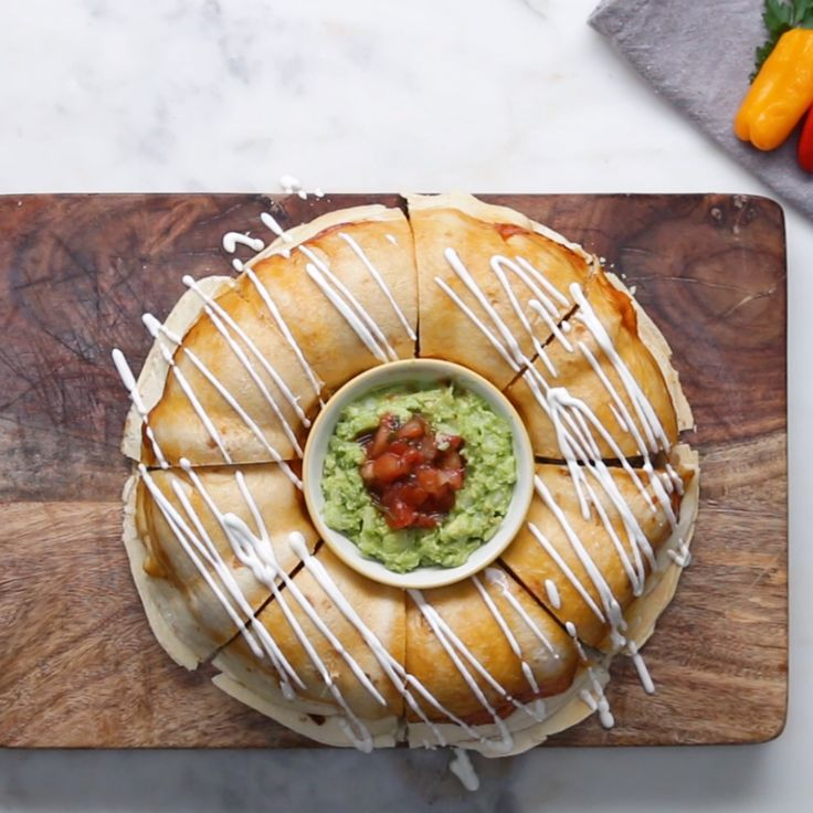 Chicken Fajita Party Ring