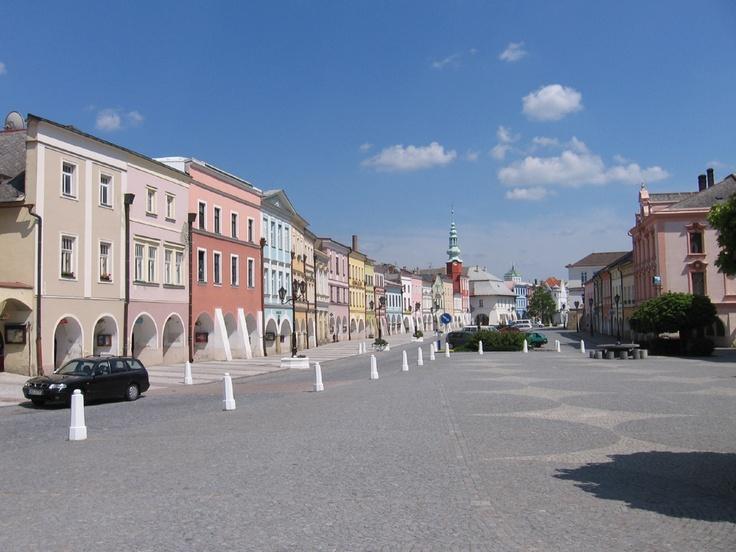 Česko, Svitavy - Náměstí