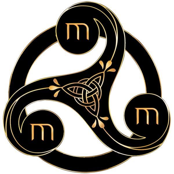 The O Jays A Symbol And Nature: Merlin Druid Symbol
