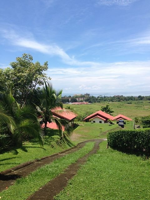 Nice view of our Bungalows at Vista Guapa Surf Camp Costa Rica