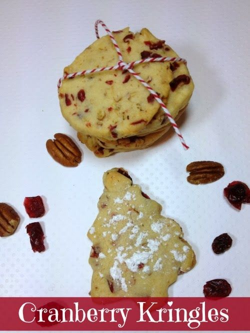 Cranberry Kringels {Cookie Recipe} from Inspiration for Moms