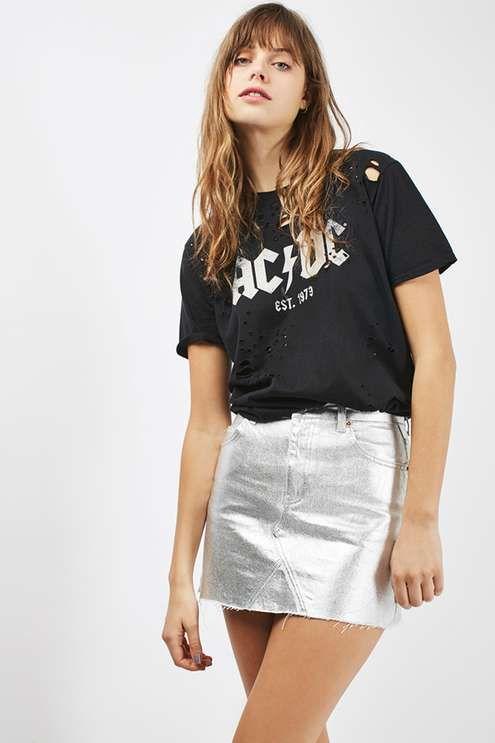 Best 25+ Silver Skirt Ideas On Pinterest | Silver Metallic Skirt Metallic Skirt And Silver Tights