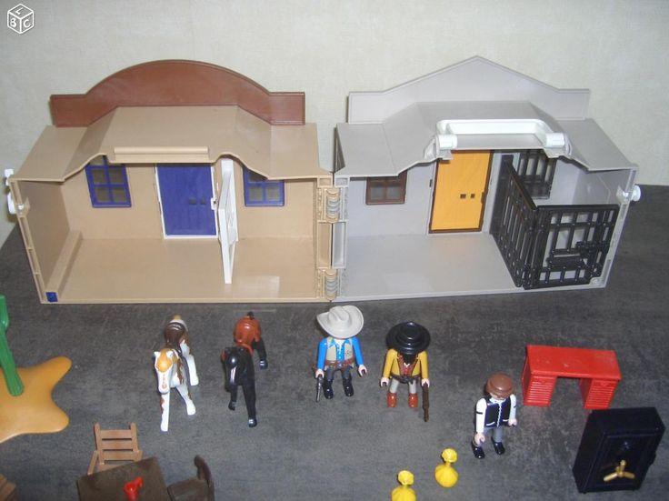 Playmobil 4398 Coffret de CowBoy Transportable