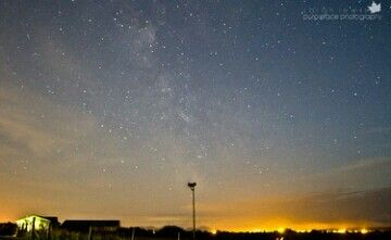 Milky Way in Anglesey  www.purplefacephotography.co.uk