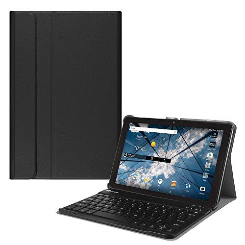 "Fintie AT&T Primetime 10 Inch Tablet Keyboard Case - Slim Shell Stand Cover with Magnetically Detachable Wireless Bluetooth Keyboard for ATT / ZTE Primetime K92 10"" Tablet 2017 Release, Black - $22.99 - 22.99"
