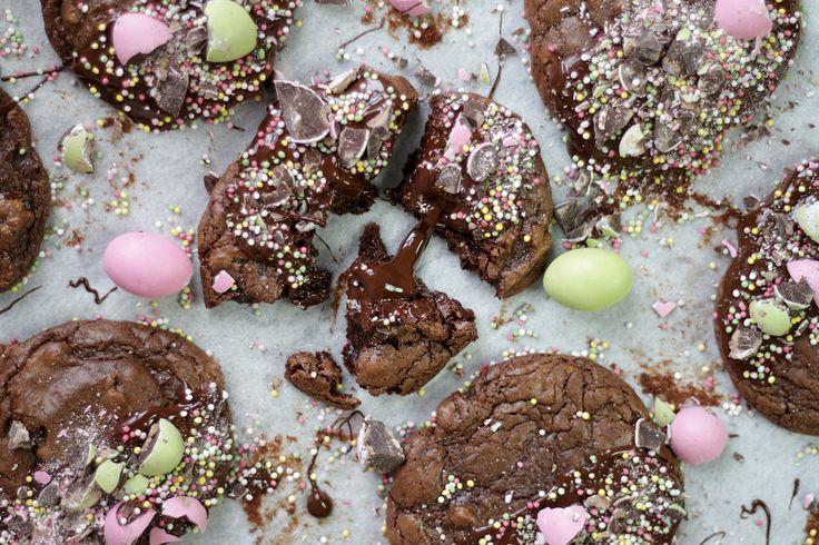 Smarriga påskkakor, recept i länk. // Amazing easter cookies, recipe (in Swedish) in link.