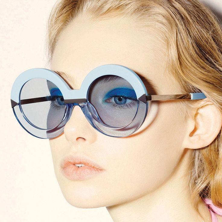 Aofly мода женщины круглый солнцезащитные очки винтаж ретро классический стрелки солнцезащитных очков люксовый бренд дизайн круглый круг солнцезащитные очки женский