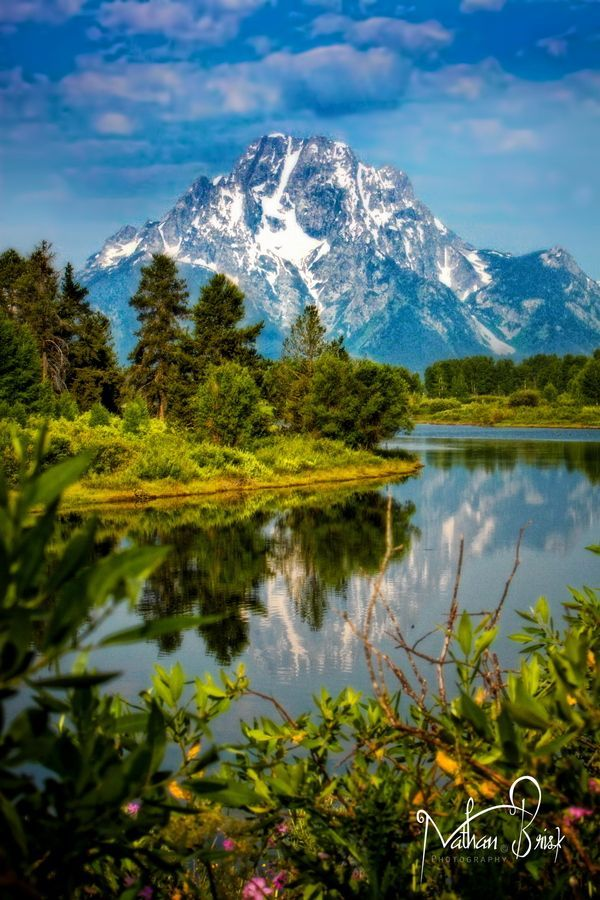 Grand Teton National Park, Wyoming by Nathan Brisk.