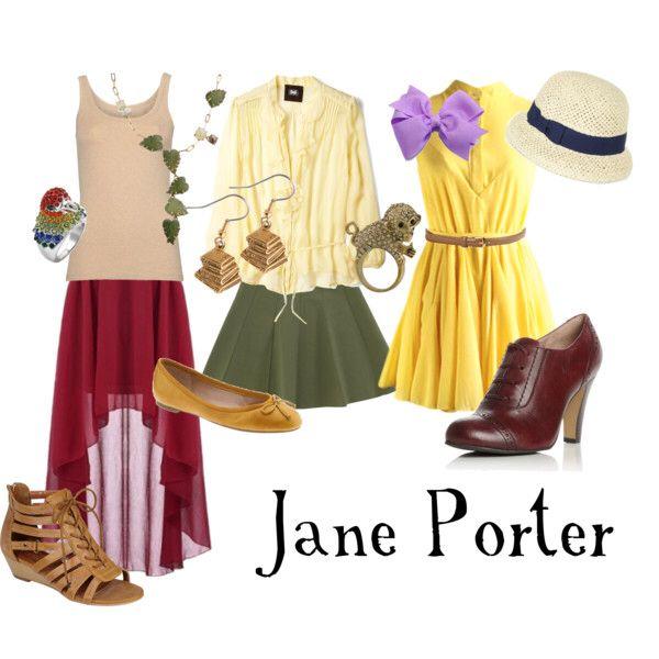 Jane from Tarzan outfit ideas