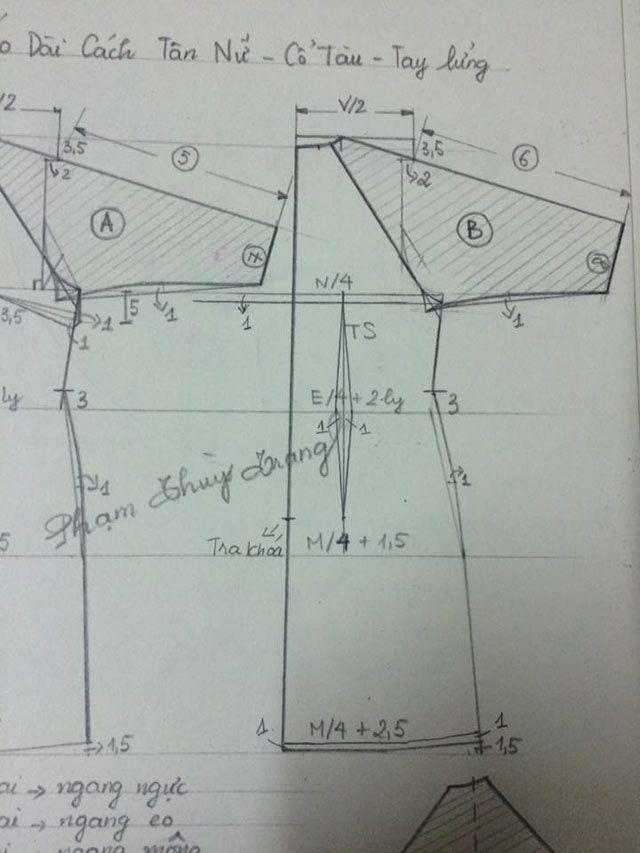Công thức may áo dài cách tân siêu đơn giản để diện Tết hình ảnh 5