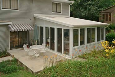 enclosed patio cost | walls-only patio enclosures | for the home ... - Enclosed Patio Ideas On A Budget