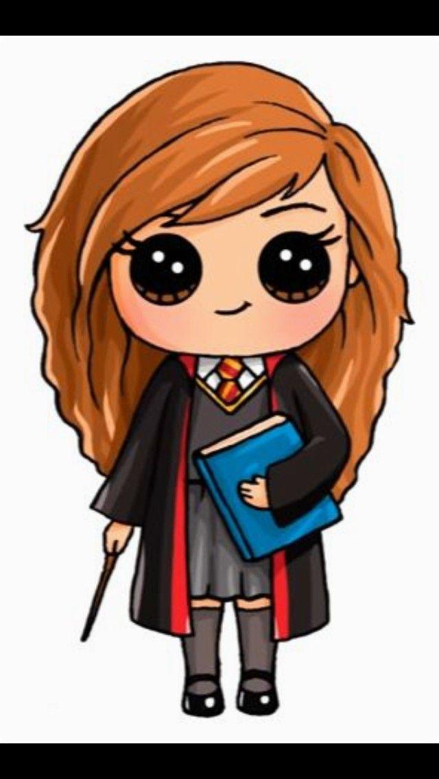 Hermione Granger Cartoon Dessin Kawaii Kawaii Personnage Kawaii
