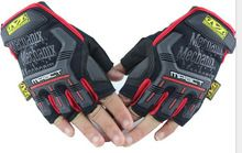 Mechanix Tactical Men Airsoft Half Finger Gloves Wholesale Outdoor Motorcycle Driving Gloves Durable Hunting Hiking Gloves(China (Mainland))