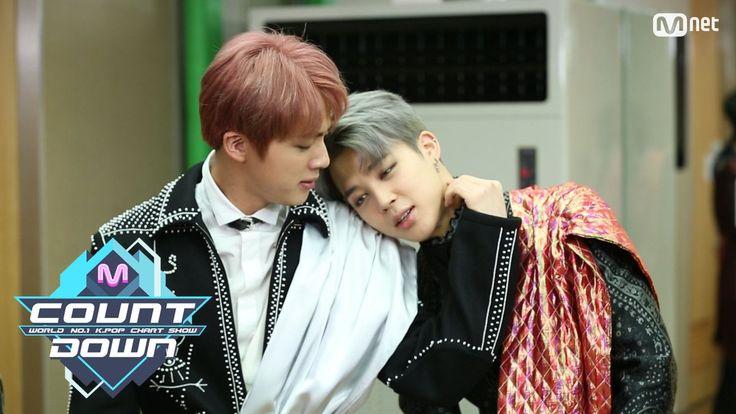 Jin & Jimin BTS -  MCOUNTDOWN