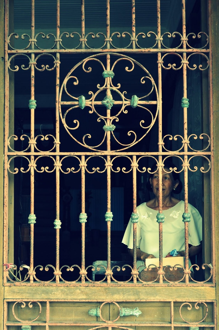 Latest design of window grills in the philippines - Balay Ni Tana Dicang Old Woman Dicang S House Negros Occidental Philippines Window