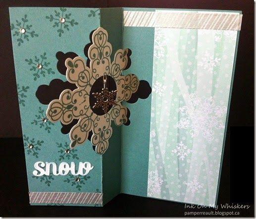 Snowflake Suspension Card