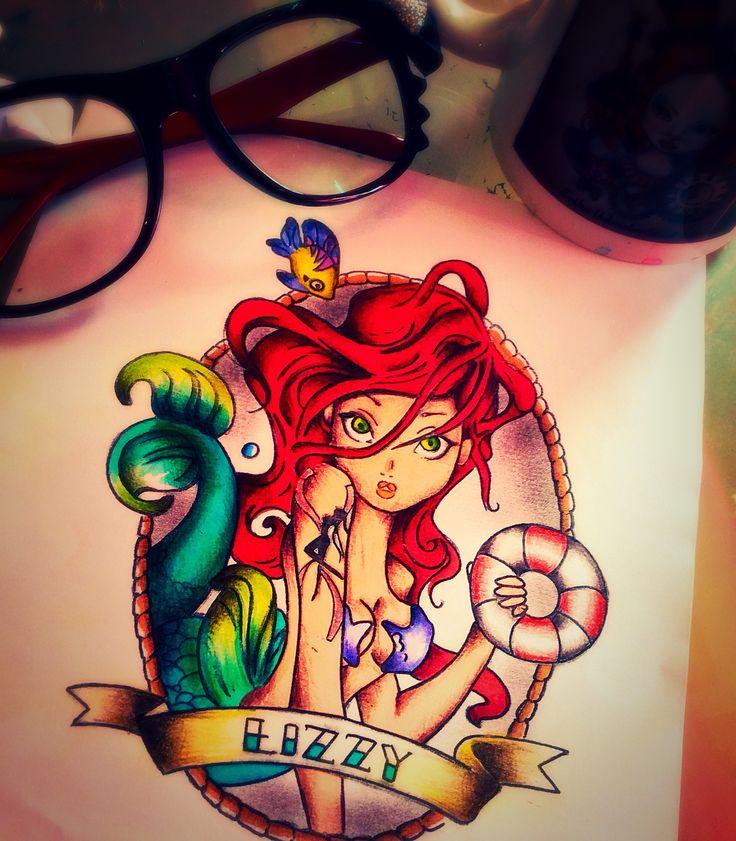 Sirenetta tattoo