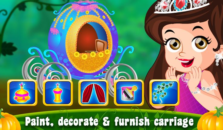 Princess Carol's horse is wounded and carriage is wrecked. Can treat Carol's horse and design a new carriage for her? https://play.google.com/store/apps/details?id=air.com.axisentertainment.PrincessCarolFairyTale
