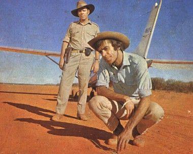 Non-indigenous actor James Laurenson as Detective Inspector Napoleon Bonaparte from the 1970s TV series 'Boney' via Classic Australian Television.
