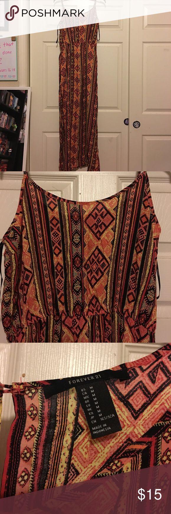 Long Aztec Maxi Dress. Long Aztec Maxi Dress. Lightweight. Forever 21 Dresses Maxi