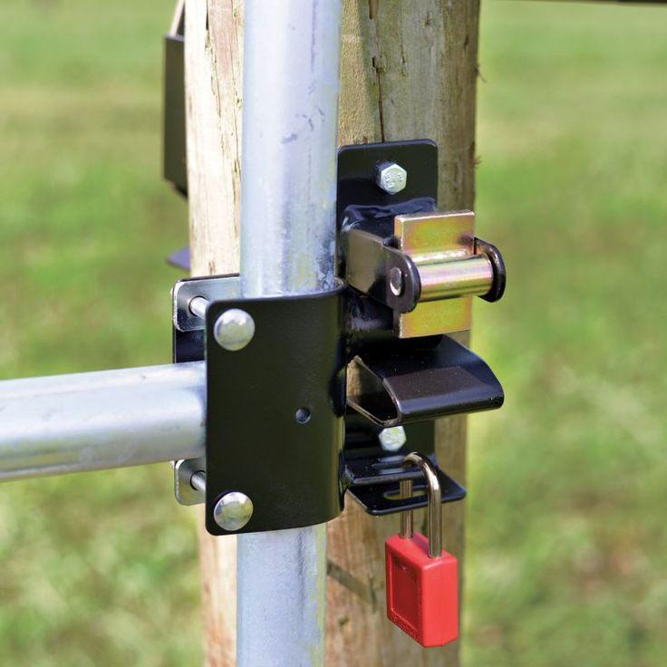 Powerfields 1Way Lockable Gate Latch in 2020 Gate latch
