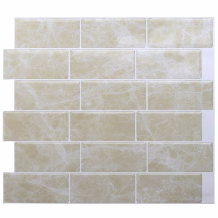 The Revolutionary Magic Gel Tiles Peel and Stick Decorative Tiles in Silver
