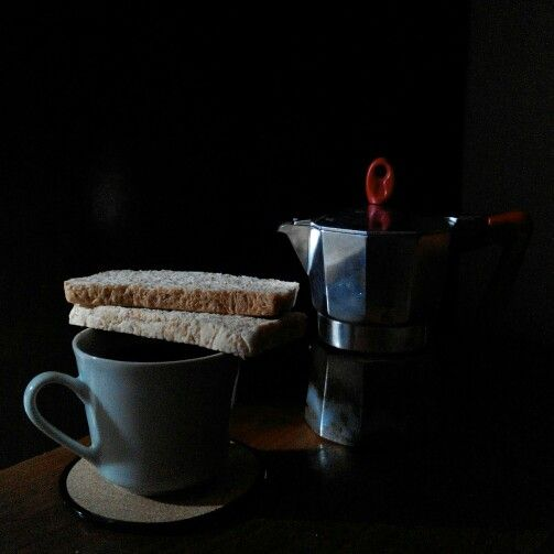 A cup of mandailing coffee for morning boost
