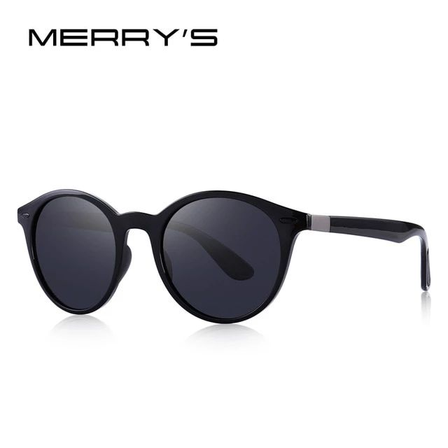 Classic Retro Rivet Polarized Sunglasses TR90 Legs Lighter