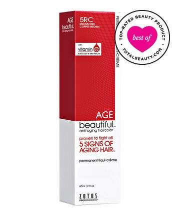 Best Hair Color Product No. 12: Zotos Age Beautiful Anti-Aging Permanent Liqui-creme Haircolor, $6.29