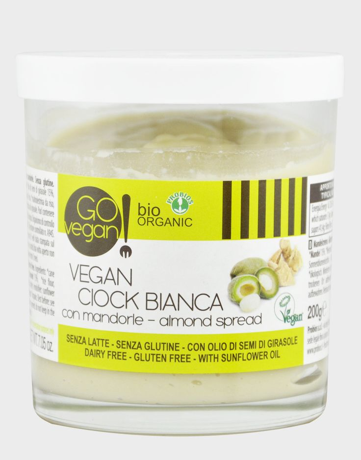 Vegan Ciock Bianca di Go vegan!, 200 grammi - iafstore.com