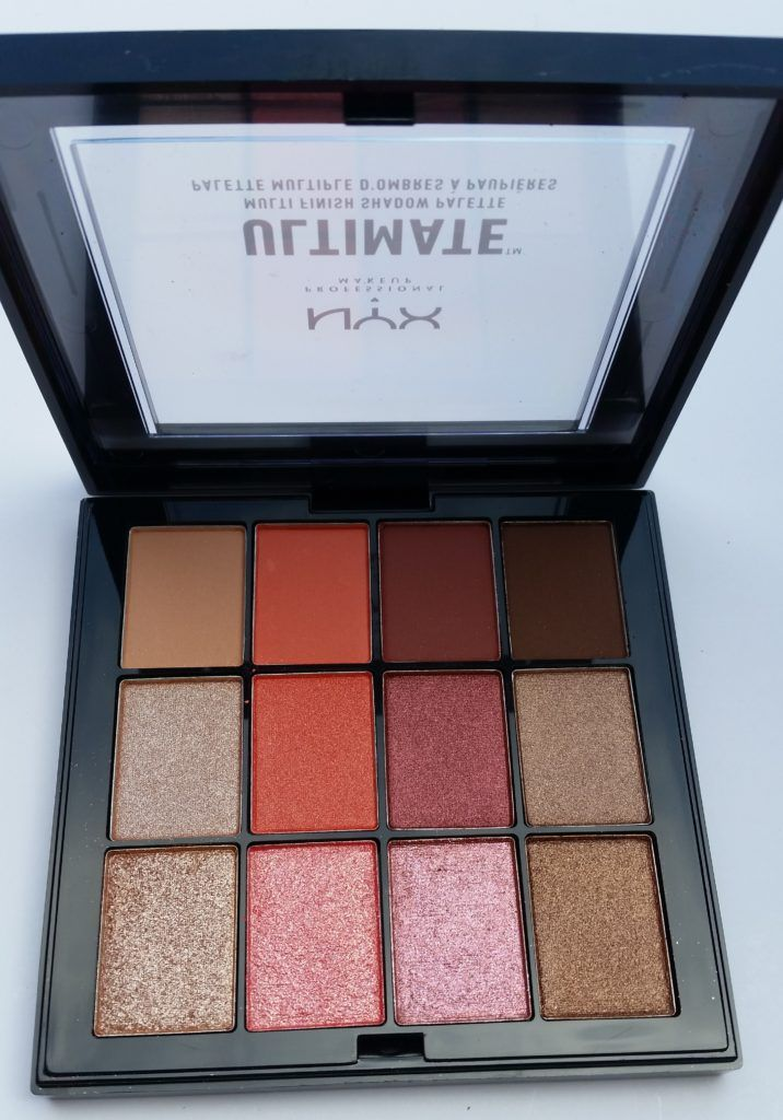 AVAILABLE – NYX ULTIMATE MULTI-FINISH SHADOW PALETTES! (Summer 2017) | NYX ULTIMATE MULTI-FINISH SHADOW PALETTE WARM RUST