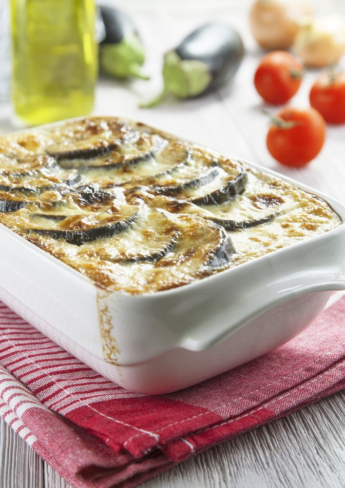 Juicy, creamy and absolutely delicious! One of the most popular and beloved traditional Greek dishes, now done vegetarian! So go ahead, indulge yourself in this little sin with my traditional recipe here...
