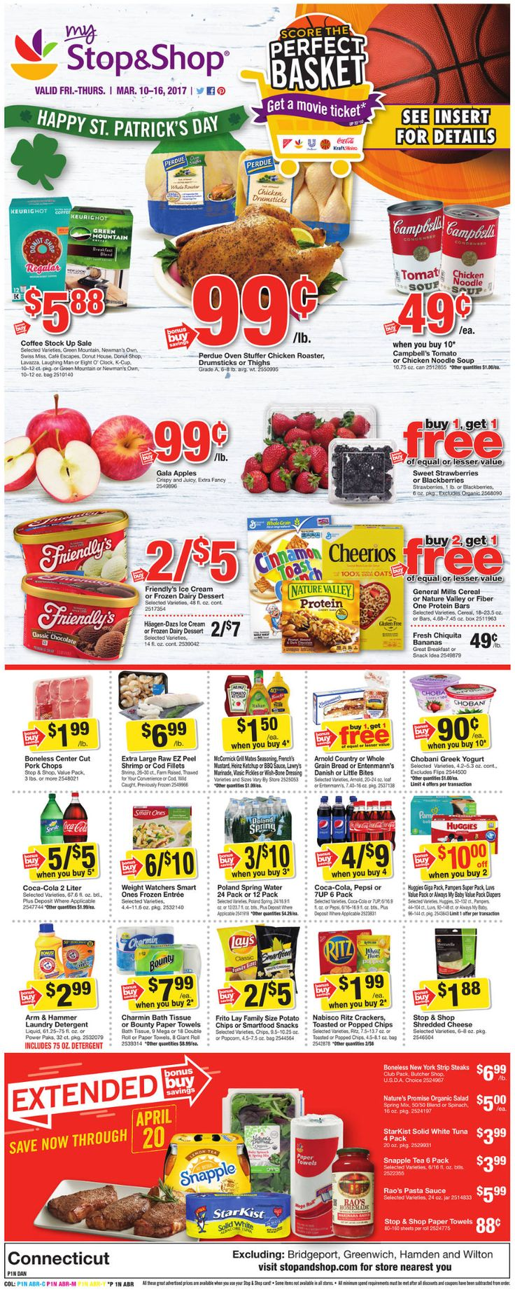 Stop and Shop Circular March 10 - 16, 2017 - http://www.olcatalog.com/grocery/stop-and-shop-circular.html