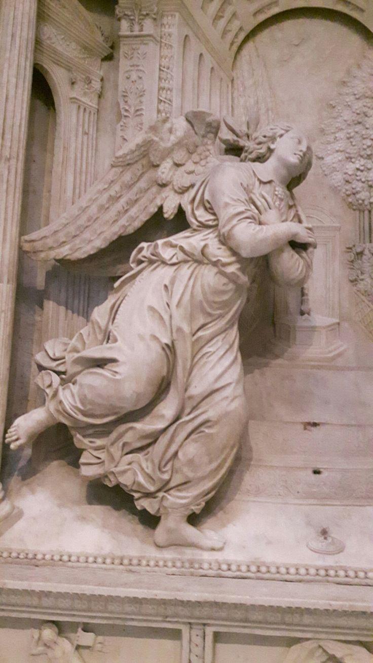 Angelo Annunciante. Dalla Cappella Correale nella Chiesa di Sant'Anna dei Lombardi a Napoli