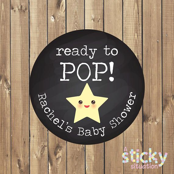 Finest quality, super glossy, professionally printed stickers available for sale in 1 (25mm), 1.5 (37mm), 2 (50mm) or 3.5 (88mm) sizes, all printed on sheets. Thank your Baby Shower guests using these fun stickers, ideal for sticking on favors. Featuring a cute yellow star design on a chalkboard effect background, all text shown on the sample can be personalized, simply check the design and let me know what you would like in the notes to seller section when purchasing. Pink and blue…