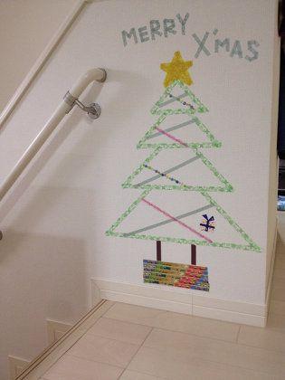 インテリア:マステでクリスマスツリー☆