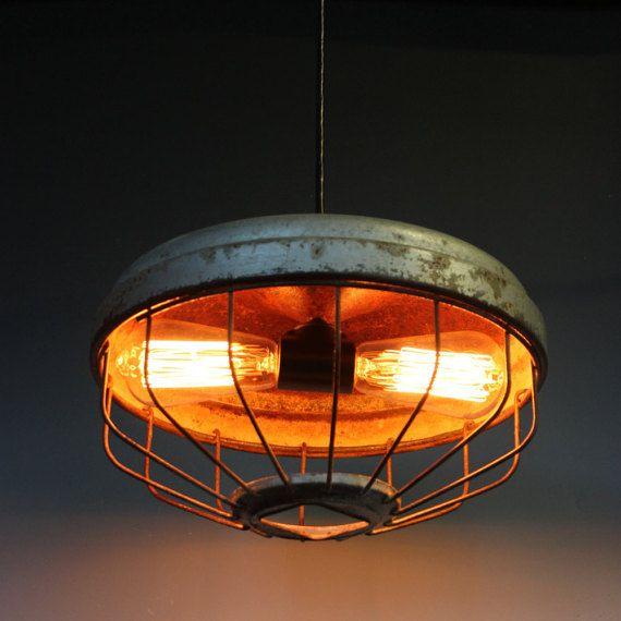 Frei schiff huhn feeder anhänger licht wdouble von lightladystudio