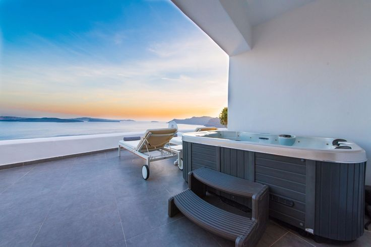 Relax and enjoy the view at Santorini Secret Suites and Spa