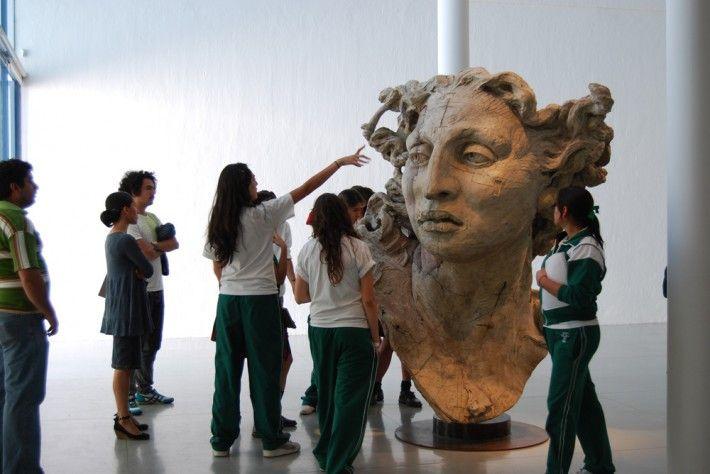 MAZ Museo de Arte de Zapopan | Enero a Marzo 2009 | Zapopan, Jalisco, México.  #JavierMarínescultor